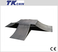 CE certificated Jumbo scooter and inline skate ramp l