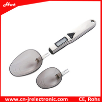 500g/0.1g stainless steel handle electronic spoon scale