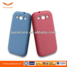 custom pattern silicone case for Samsung Galaxy S3