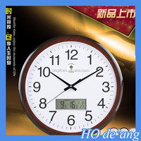 HOGIFT Beautiful design Roman Retro Numeral Timepiece Melting Distorted Wall Clock