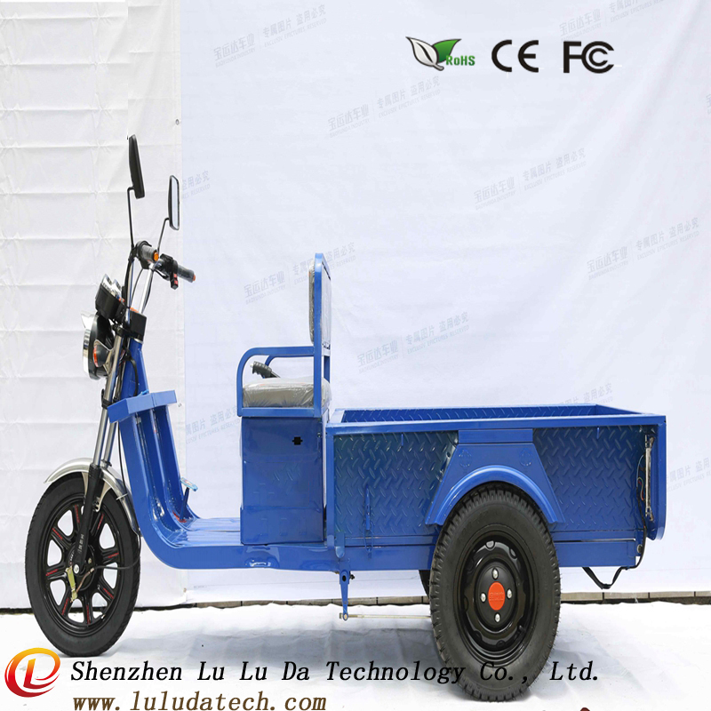 15pipes three wheel electric motorcycle 48V 700w customized tricycle cargo bike