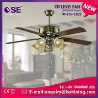 60Hz contemporary decorative ceiling fan with E27*5 light