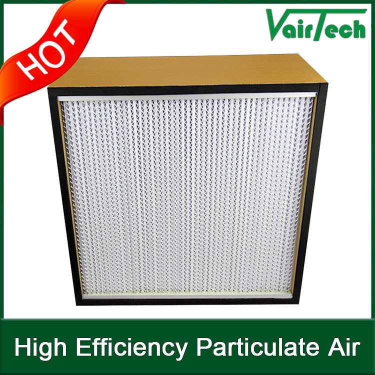 HEPA high efficiency washable air filter in bags /HVAC
