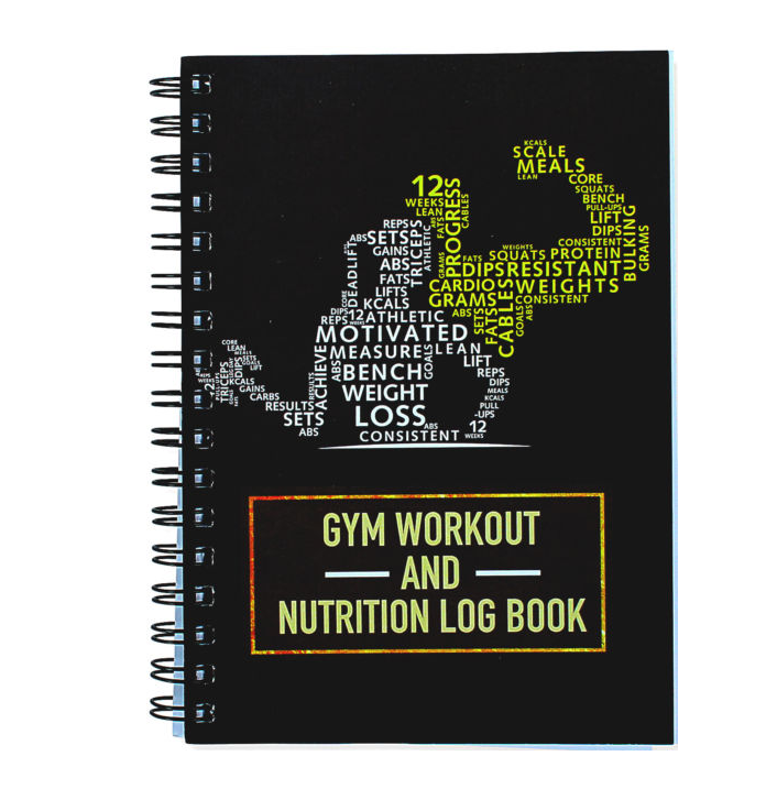 Best sale A5 customized digital printing gym diary