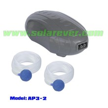 Pond air pump with two air outlets (AP3-2)