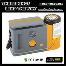 12V air compressor with tire sealant