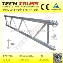 C40-DS30 aluminum flat truss , girder truss , roof ladder truss