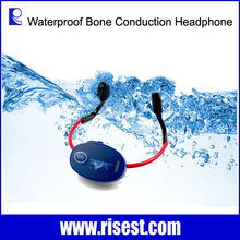 H-902 Bone Conduction Hearing Aid Receiver and Wireless Walkie Talkie Microphone for Swimming Coaching