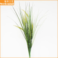 WF112949 fake grass cattail ,artificial cattail bushartificial pvc grass,artificial cattail