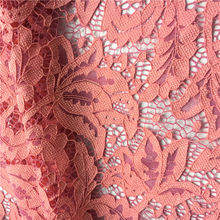S2305 Elegant nylon spandex crease resistance floral pattern beaded sequined lace fabric