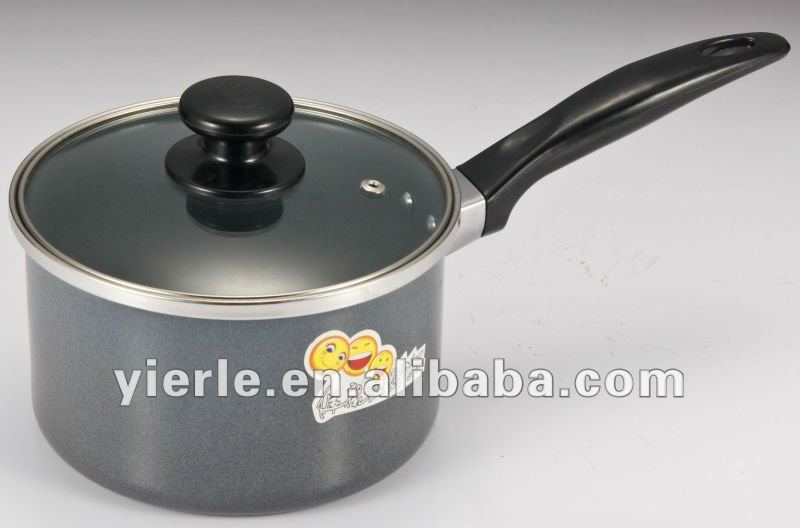 China manufacturer kitchenware hot sale cookware single stainless steel Mini Milk Pan