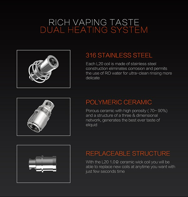 Wholesale box mod mechanical Lsbox 20W Box mod ceramic mechanical mod ecig kit wholesale ecig