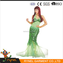 PGWC1241 plus size extreme sexy mermaid costume halloween costume for fat women