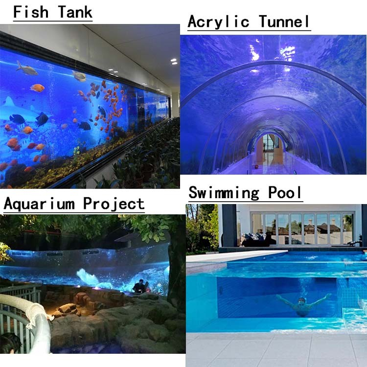 Wholesale cheap new design custom large cylinder aquarium