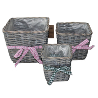 Wicker Garden Basket
