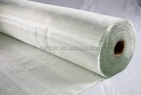 Thermal insulation cloth c glass fiberglass 200g fabrics plain woven roving