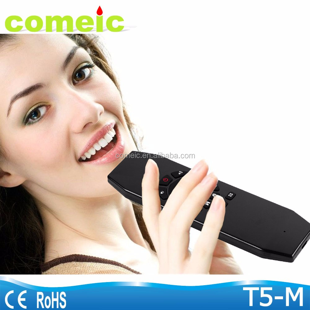 Newest model Wireless onida tv remote control with air mouse air mouse km950v