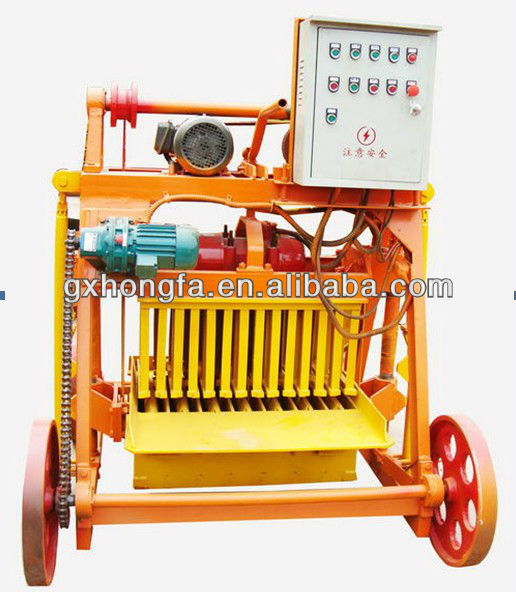 hot sale in united arab emirates!QM4-45 movable concrete block making machine for house designs