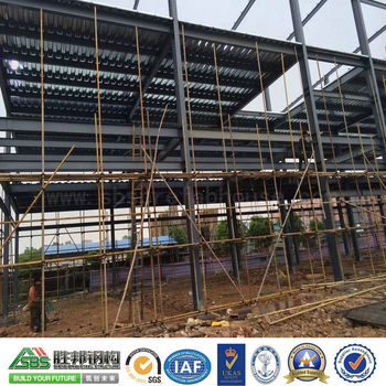 Quality Certification Prefabricated Steel Structure Workshop Building
