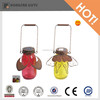 colorful glass solar led lantern for garden