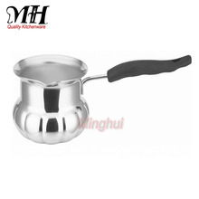 Best Selling Stainless Steel Turkish Coffee Warmer Millk Butter Warmer Tea Sets