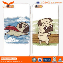 Cute dog shape phone case for iphone 6s case printing