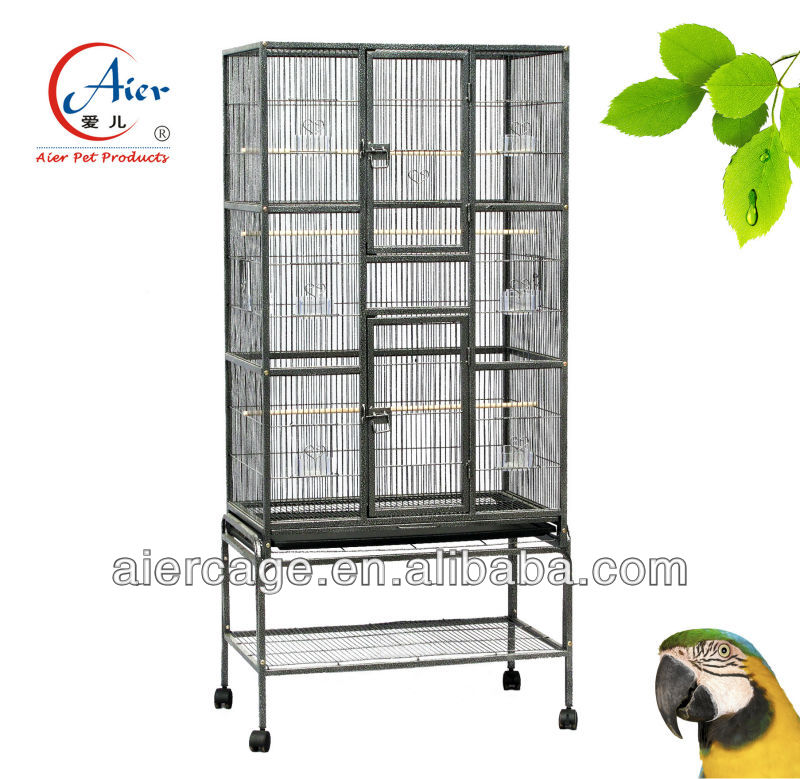 double doors bird cages for finches