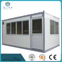 Strong structural portable prefab steel cabin/container house/prefabricated house