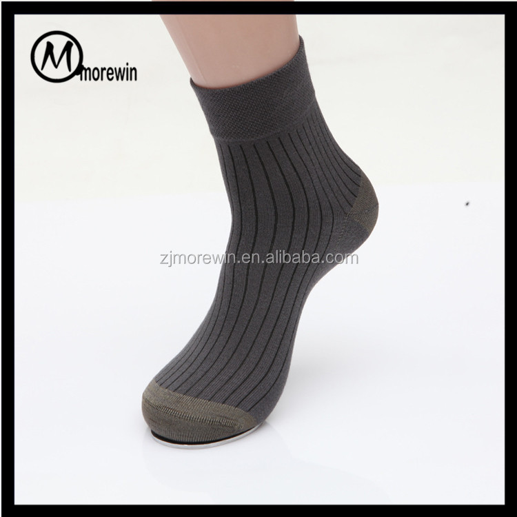 Copper infused men business socks