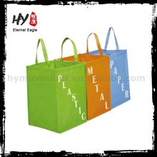 Eco-friendly colorful printing non woven shopping bag with low price