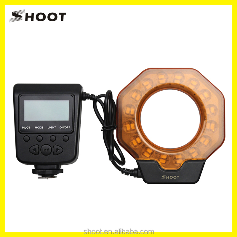 New Product Camera Macro Led Ring Flash Light For Digital Camera