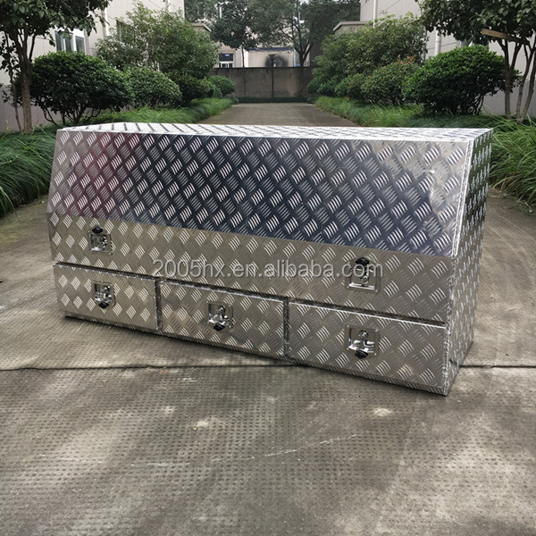Hot-selling Aluminium Tool Box With three Drawers