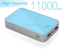 Hot sell 10000mAh high capacity Mobile Power Bank charging for iPad, iPhone, Smartphones
