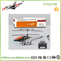 Big scale 60CM outdoor diecast alloy rc helicopter with gyro China manufacture
