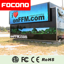 Truck Mobile Video Signs digital advertisement Outdoor EMC TV P10 led display