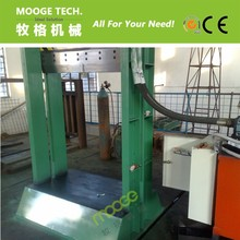 Strong guillotine for rubber cutting machine