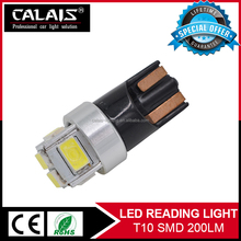 Top seller High lumens 168 194 921 W5W T10 led auto bulb Red/White/Yellow for crago/dome/side marker light bulb
