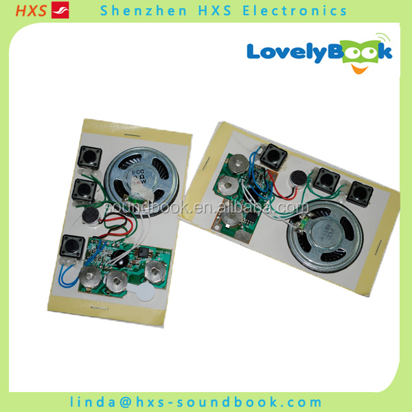 Light Sensor Motion Sensor Recordable Sound Chip For Greeting Cards