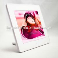 8 inch digital photo frame white