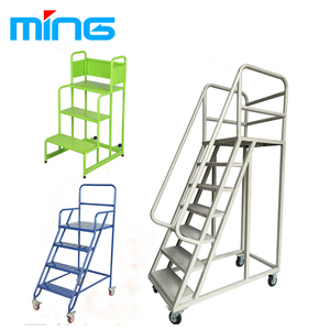 Charmant Warehouse Supermarket Portable Step Moveable Stairs Rolling ...