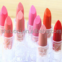 yes love cosmetics mini golden red rose matte vegetarian lipstick with waterproof