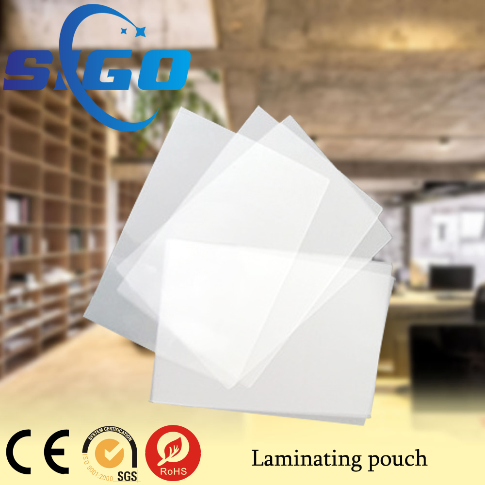 SIGO laminating pouches thermal lamination film