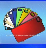 leather case for iphone4G/4S with high quality 10 colors