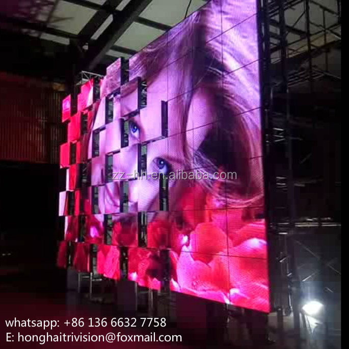brand new design stage backdrop screen with bumping motions