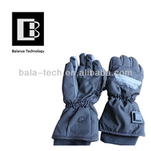 rechargeable heat gloves/Bicycle colorful heating glove