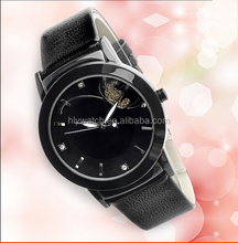 Importing japan movt selected three color quartz watch for ladies