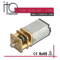 12mm small geared electric motors /gear reduction electric motor/electric motor with reduction gear