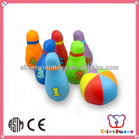 High Quality PU Material Sports Bowling Ball