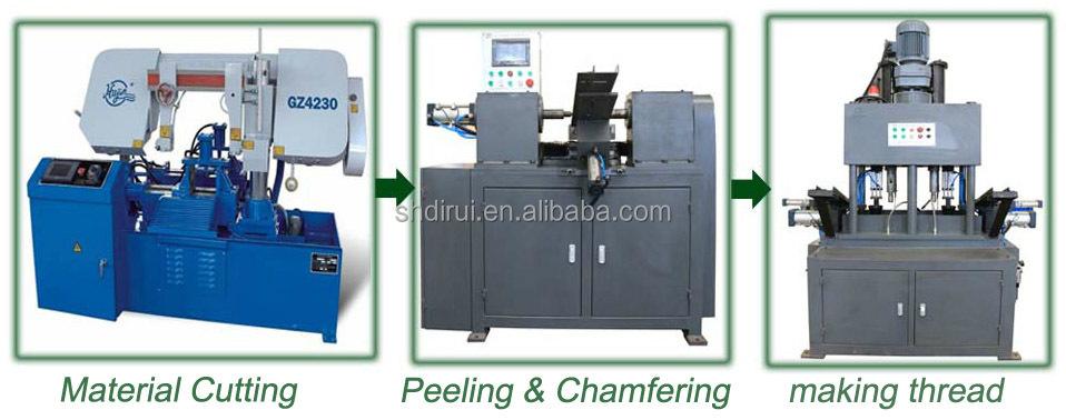 Máquina tocando ou Acoplador acoplador vergalhões fio que faz a máquina novo tipo de aperto hidráulico