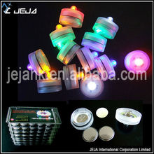 Christmas led submersible candle, led tealight with color changing
